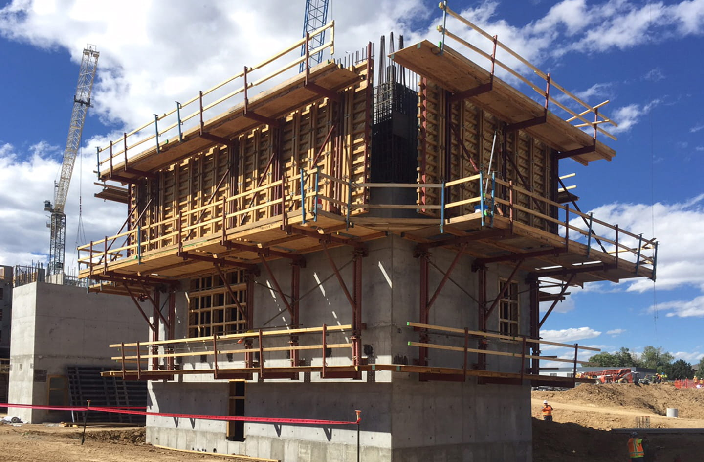 UFP Concrete project One Belleview in Denver.